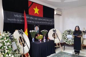 Lễ viếng và mở Sổ tang nguyên Chủ tịch nước Lê Đức Anh tại Myanmar, Thượng Hải (Trung Quốc)
