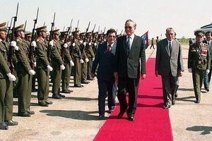 Những hoạt động đối ngoại nổi bật của nguyên Chủ tịch nước Lê Đức Anh