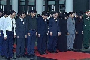 Đoàn đại biểu TP Hà Nội viếng nguyên Chủ tịch nước Lê Đức Anh