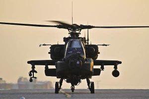 Uy lực của trực thăng tấn công AH-64 Apache