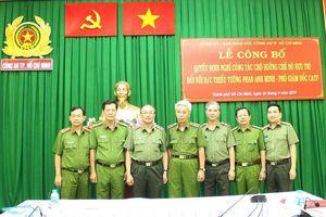 Công an TPHCM có Thủ trưởng Cơ quan CSĐT thay Thiếu tướng Phan Anh Minh