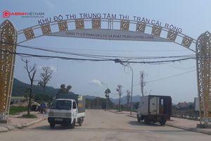 Dự án KĐT Trung tâm thị trấn Cái Rồng, Quảng Ninh: CĐT 'phớt lờ' chỉ đạo của tỉnh?