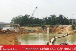 Đầu tư 16 tỷ đồng xây dựng cầu Khe Con ở Hương Khê