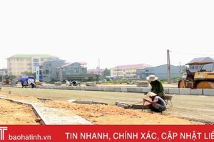 Hối hả thi công các công trình chào mừng 550 Thiên Lộc - Can Lộc