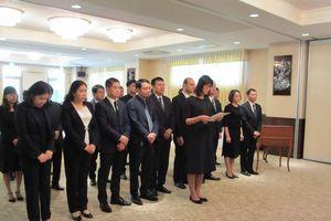 Đại sứ quán Việt Nam tại Nhật tổ chức lễ viếng Đại tướng Lê Đức Anh