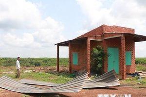 Mưa to kèm theo mưa đá, lốc xoáy gây nhiều thiệt hại tại Bình Phước