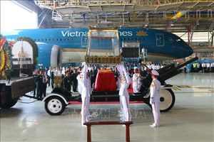 Linh cữu nguyên Chủ tịch nước, Đại tướng Lê Đức Anh về đến TP Hồ Chí Minh