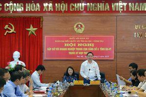 Đoàn ĐBQH tỉnh Bà Rịa - Vũng Tàu tiếp xúc với doanh nghiệp trong Cụm cảng số 5