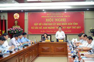 Bà Rịa - Vũng Tàu: Đoàn ĐBQH lắng nghe kiến nghị của Sở, ngành trước Kỳ họp thứ 7