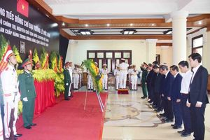 Thừa Thiên Huế tổ chức lễ viếng Nguyên Chủ tịch nước, Đại tướng Lê Đức Anh
