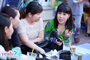 Việt Hương xúc động cùng Tiết Cương và Hoàng Mập ghé quán cơm 1.000 đồng