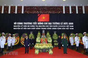 Cử hành trọng thể Lễ truy điệu và an táng nguyên Chủ tịch nước Lê Đức Anh