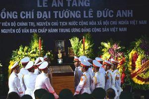 Lễ an táng Đại tướng Lê Đức Anh tại khu K1 nghĩa trang TP. Hồ Chí Minh