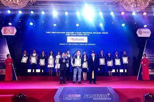 HD SAISON xếp hạng 39 trong Top 500 doanh nghiệp tăng trưởng nhanh nhất Việt Nam