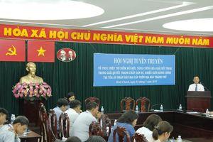 Chánh án TAND huyện Bình Chánh nói về công tác hòa giải