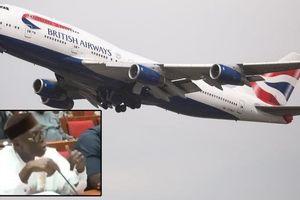 Dân nhà giàu Nigeria đặt mua pizza ở Anh, chở về bằng máy bay