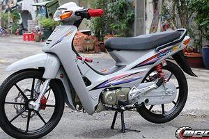 Choáng với Honda Wave độ động cơ 190cc ở Sài Gòn