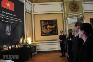 Lễ viếng và mở Sổ tang nguyên Chủ tịch nước Lê Đức Anh tại Bỉ, Australia, Israel, Anh và Pháp