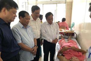 Đại úy công an bị đâm phải cắt 1 quả thận đã ổn định sức khỏe sau nhiều ngày nằm viện