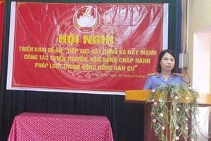VKSND Hải Dương tuyên truyền, phổ biến giáo dục pháp luật cho người dân