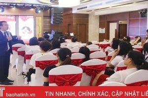 Ischool Hà Tĩnh tổ chức hội thảo 'Dạy con thời đại 4.0'