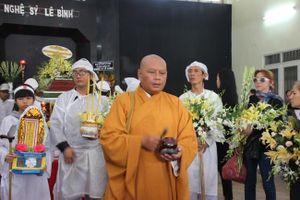 Xúc động lễ tiễn đưa nghệ sĩ Lê Bình về cõi vĩnh hằng