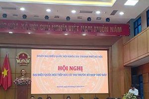 Cử tri Hà Nội: Vui mừng khi biết sức khỏe Tổng Bí thư, Chủ tịch nước đã ổn định