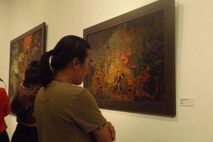 Khai mạc triển lãm mỹ thuật 'Điện Biên năm ấy'