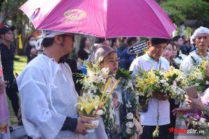 Trịnh Kim Chi, Kiều Trinh thất thần cùng gia đình tiếc thương đưa tiễn cố nghệ sĩ Lê Bình