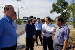 Bí thư Tỉnh ủy Võ Thị Ánh Xuân khảo sát hạ tầng du lịch vùng Bảy Núi