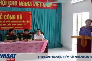 VKSND tỉnh Thái Bình: Không đề nghị xét giảm thời hạn chấp hành án phạt tù đối với hai phạm nhân phạm tội giao cấu với trẻ em