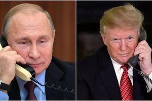 Bị tố 'giật dây' Venezuela, ông Trump lập tức điện đàm với Tổng thống Putin