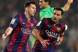 Messi viết tâm thư gửi 'đàn anh' Xavi