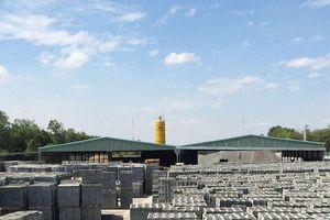 Phát triển vật liệu xây dựng xanh: Cần cơ chế rõ ràng