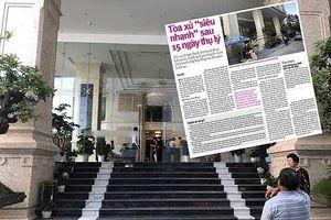 Phó Ban Nội chính Trung ương tìm hiểu vụ PV bị dọa giết cả nhà