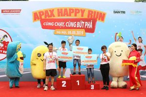 Apax Happy Run 2019: Chung tay vì sự phát triển của trẻ em Việt Nam