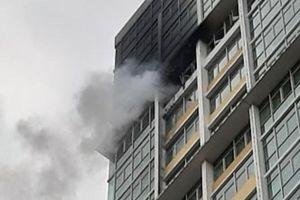 TP.HCM: Hỏa hoạn ở chung cư cao cấp The Vista An Phú, cư dân tháo chạy