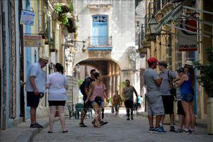 Lượng du khách nước ngoài đến Cuba tăng 7,2%