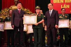 Vinh danh điển hình tiên tiến Hội truyền thống Trường Sơn đường Hồ Chí Minh