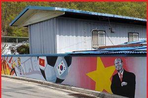 Tràn ngập hình bích họa HLV Park Hang Seo và Việt Nam ở Hàn Quốc