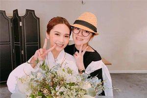 Dù sắp làm mẹ, An Dĩ Hiên trẻ trung như thiếu nữ cùng ông xã đến dự concert của Dương Thừa Lâm