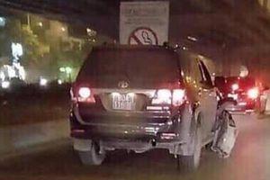 Điều tra, làm rõ vụ nghi vấn xe ôtô biển xanh gây tai nạn rồi bỏ chạy