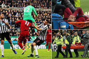 Dính chấn thương sau pha va chạm kinh hoàng, Mohamed Salah bật khóc