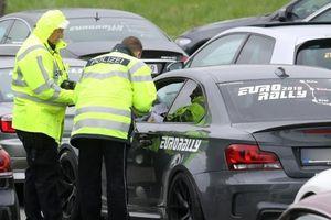Bắt giữ hàng trăm ôtô định tổ chức đua xe trên cao tốc Autobahn