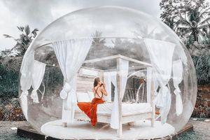 Khách sạn bong bóng tại Bali thu hút giới trẻ sành điệu đến check-in