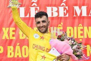 Ngoại binh Iran đoạt áo vàng giải đua xe đạp Về Điện Biên Phủ