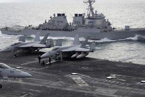 Quân sự thế giới: Mỹ điều tàu sân bay và máy bay ném bom tới bờ biển Iran