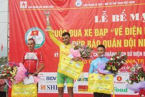 Mirsamad Pourseyed đoạt áo vàng chung Cuộc đua xe đạp 'Về Điện Biên Phủ - 2019'