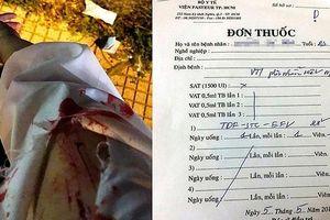 Bị tấn công bằng vật nhọn trên đường, cô gái phải điều trị phơi nhiễm HIV