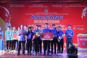 Thái Nguyên giành giải nhất chung kết cuộc thi 'Ánh sáng soi đường' miền Bắc